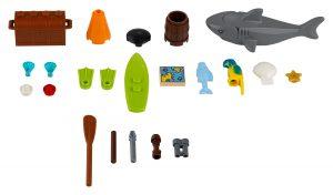 accesorios navales lego 40341 xtra
