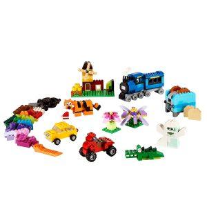 caja de ladrillos creativos mediana lego 10696