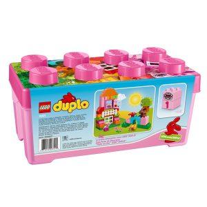 caja rosa de diversion todo en uno duplo 10571