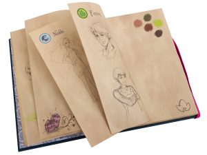 cuaderno de dibujo de emily jones lego 853565 elves