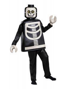 disfraz premium de esqueleto lego 5006010