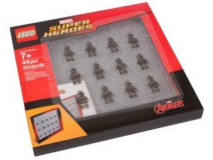 expositor de minifiguras lego 853611 marvel super heroes