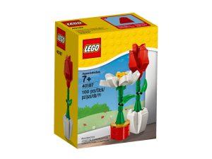 flores decorativas lego 40187