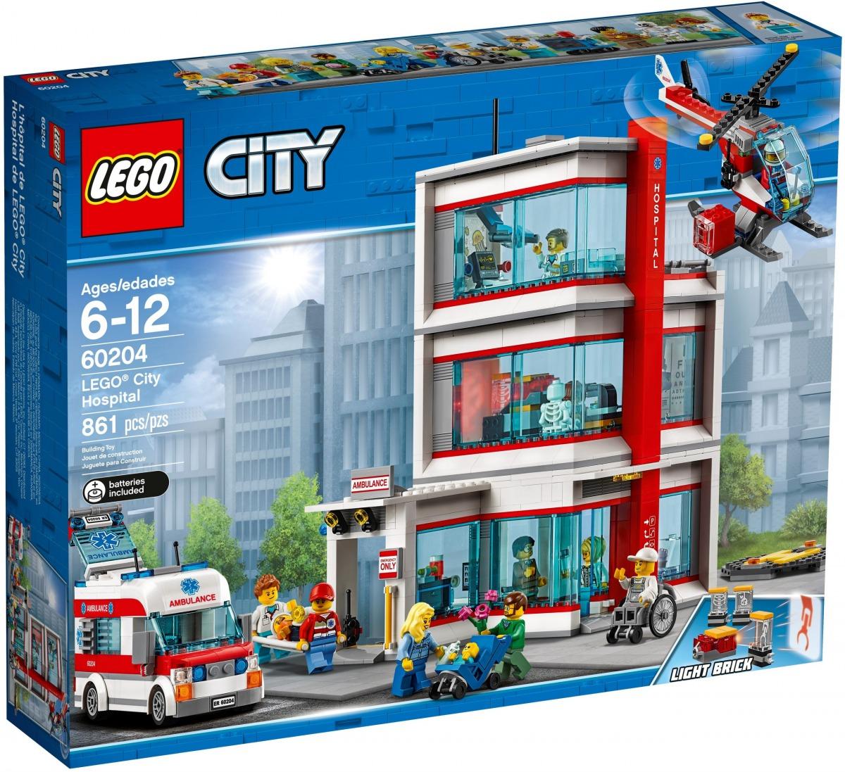 hospital de lego 60204 city scaled