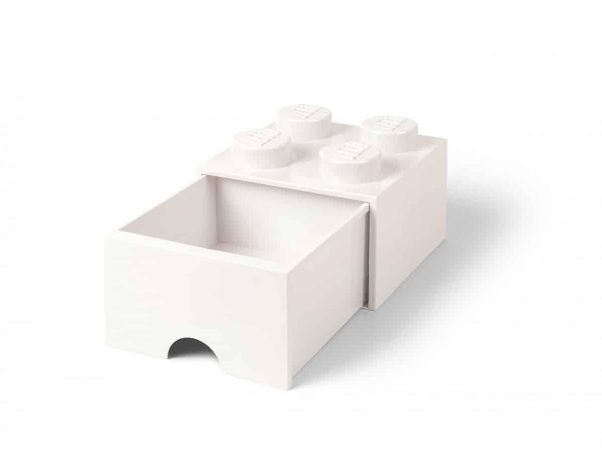 ladrillo de almacenamiento con cajon blanco de 4 espigas lego 5006208 scaled