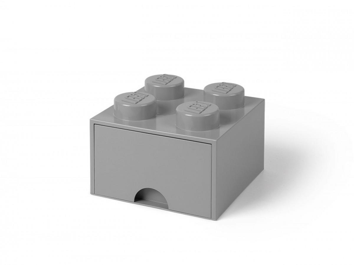 ladrillo de almacenamiento con cajon gris piedra medio de 4 espigas lego 5005713 scaled