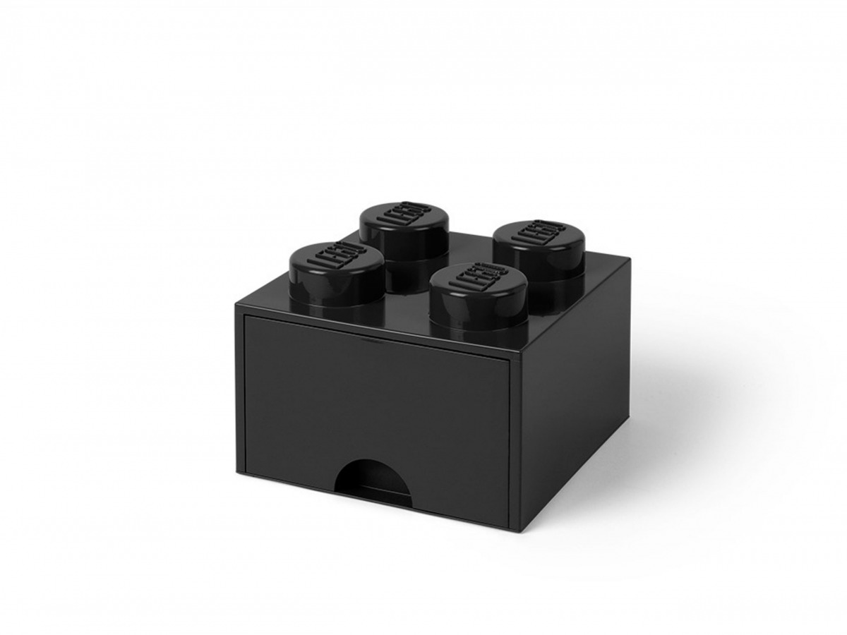 ladrillo de almacenamiento con cajon negro de 4 espigas lego 5005711 scaled