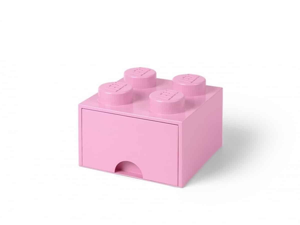 ladrillo de almacenamiento con cajon violeta claro de 4 espigas lego 5006173 scaled
