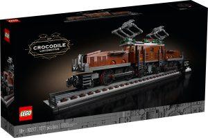 lego 10277 locomotora cocodrilo