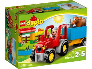 lego 10524 el tractor de la granja