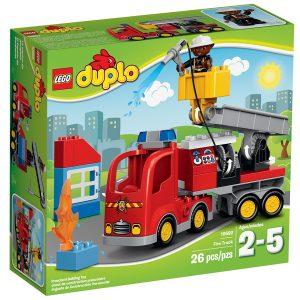 lego 10592 el camion de bomberos