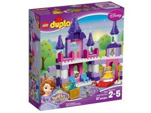 lego 10595 el castillo real de sofia the first