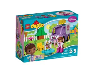 lego 10605 la ambulancia rosie de la doctora juguetes