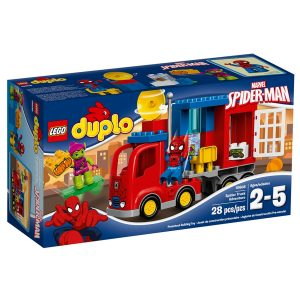 lego 10608 la aventura en el camion arana de spider man