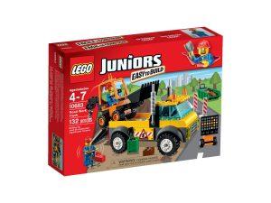 lego 10683 camion de obras en carretera