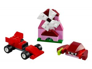 lego 10707 caja creativa roja