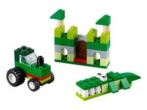 lego 10708 caja creativa verde