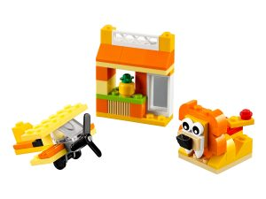 lego 10709 caja creativa naranja