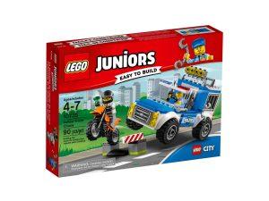 lego 10735 furgon de la policia en accion