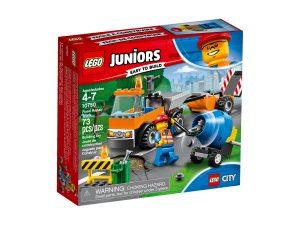 lego 10750 camion de obras en carretera