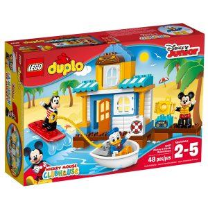 lego 10827 casa en la playa de mickey y sus amigos