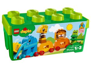 lego 10863 caja de ladrillos mis primeros animales