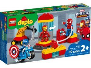 lego 10921 laboratorio de superheroes