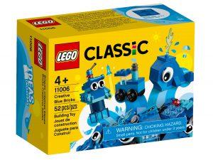 lego 11006 ladrillos creativos azules