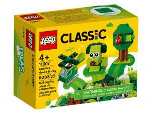 lego 11007 ladrillos creativos verdes