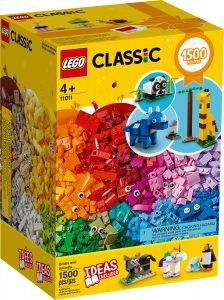 lego 11011 ladrillos y animales
