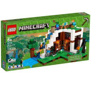 lego 21134 base de la cascada