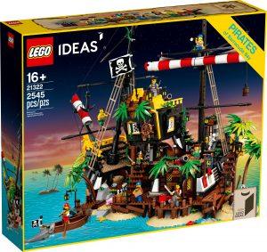 lego 21322 piratas de bahia barracuda