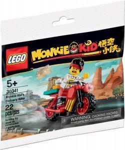 lego 30341 bici de reparto de monkie kid