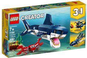 lego 31088 criaturas del fondo marino