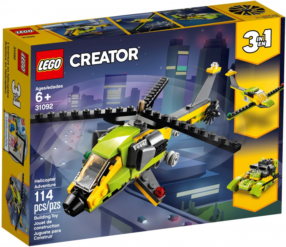 lego 31092 aventura en helicoptero scaled