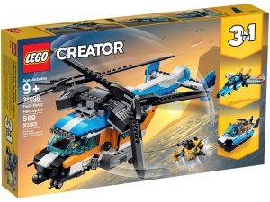 lego 31096 helicoptero de doble helice