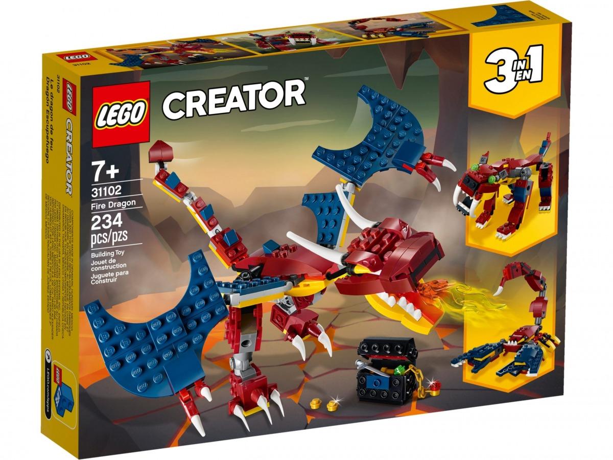lego 31102 dragon llameante scaled