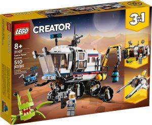 lego 31107 rover explorador espacial