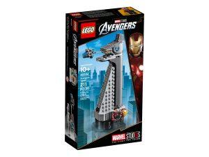 lego 40334 torre de los vengadores
