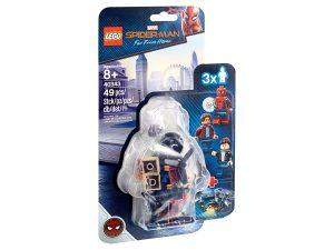 lego 40343 spider man y el asalto al museo