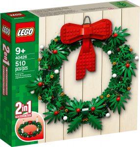 lego 40426 corona de navidad 2 en 1