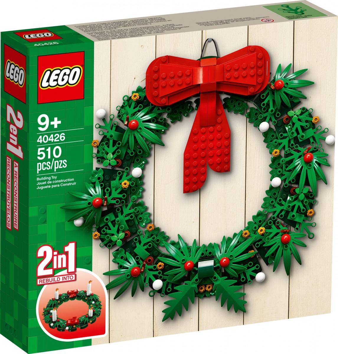 lego 40426 corona de navidad 2 en 1 scaled