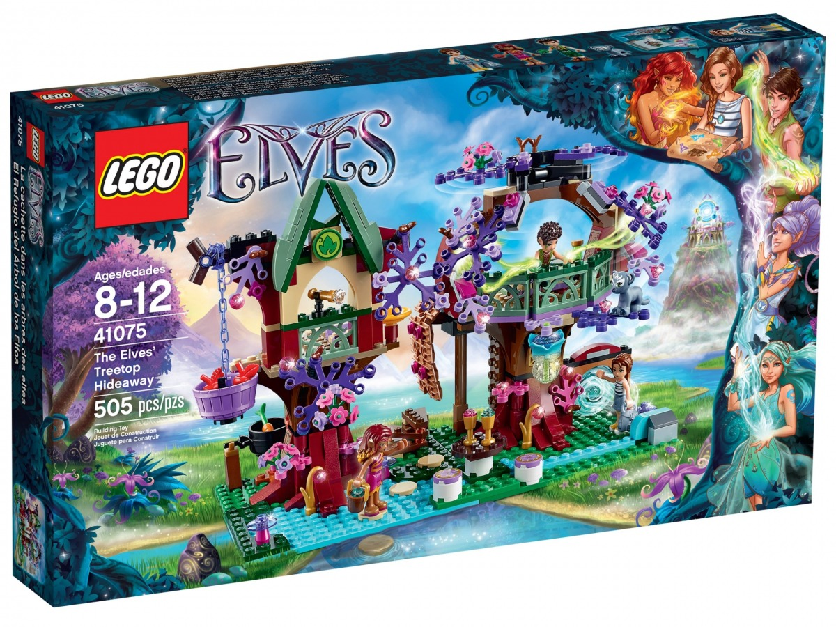 lego 41075 el refugio del arbol de los elfos scaled