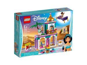 lego 41161 aventuras en palacio de aladdin y jasmine
