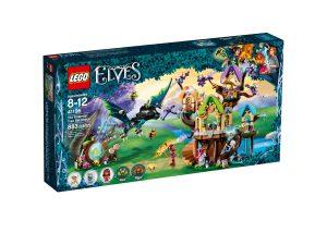 lego 41196 ataque de los murcielagos al arbol de la estrella elfica