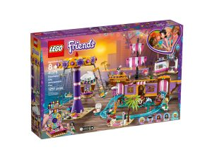 lego 41375 muelle de la diversion de heartlake city