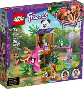 lego 41422 casa del arbol panda en la jungla