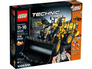 lego 42030 excavadora con ruedas volvo l350f con control remoto