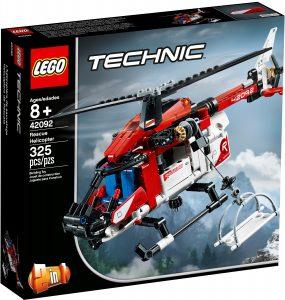 lego 42092 helicoptero de rescate