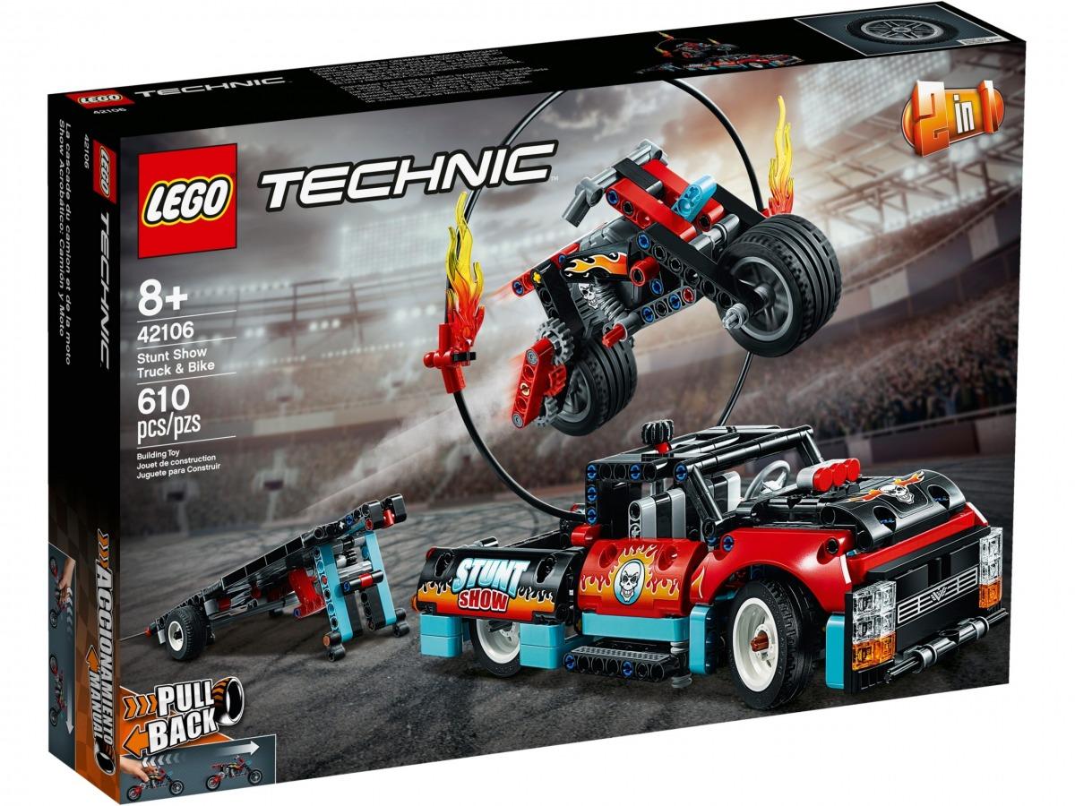 lego 42106 espectaculo acrobatico camion y moto scaled